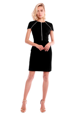 Paige Short Sleeves Dress