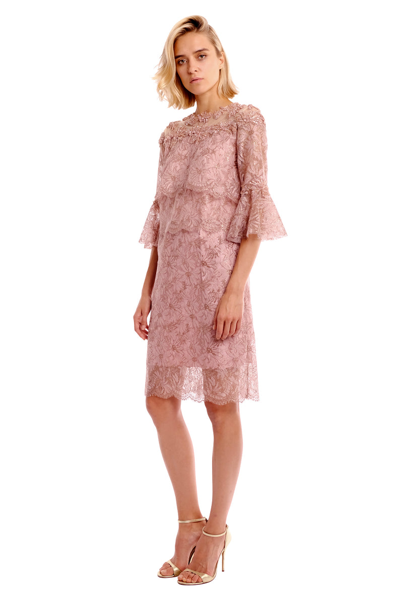 Seline Lace Emb. Dress