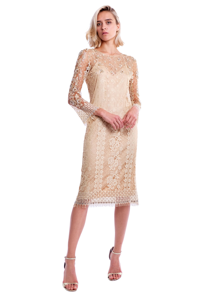 Dia Lace Emb. Dress
