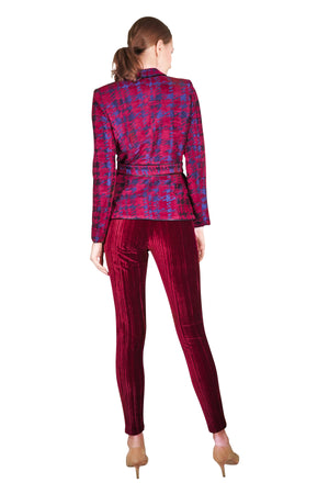Dahlia Couture Lined Tweed Jacket
