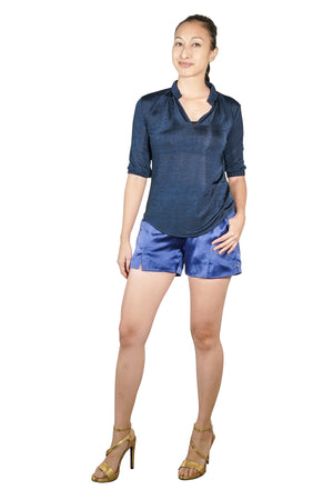 Jini Silk Shorts