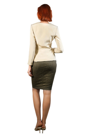 Ally Silk Crepe Jacket