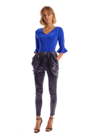 Roma Silk Trousers