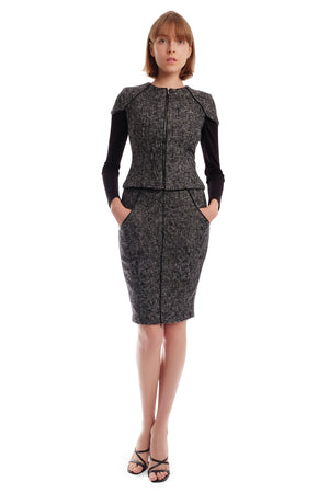 Pamma Tweed Skirt
