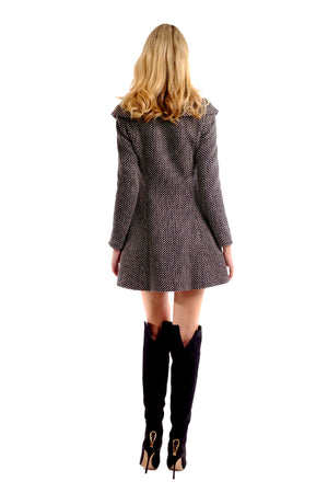Germain Tweed Coat Dress