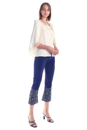 Claudina Lace Trousers