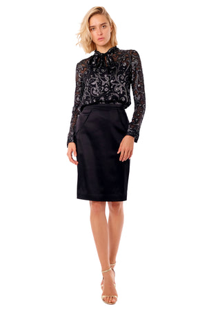 Royce II Silk Blouse