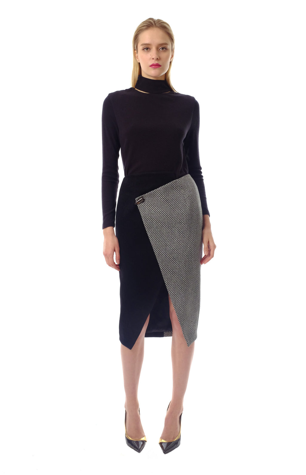 Pia Wool Skirt
