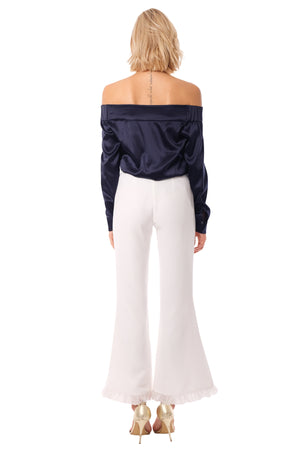 Tonia Off-Shoulder Shirt Top