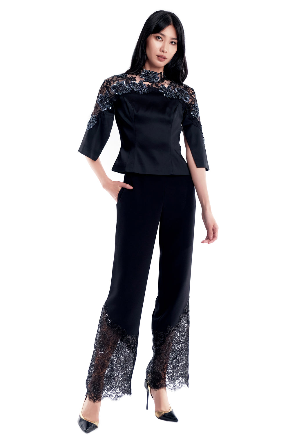 Eugenie Lace Trousers