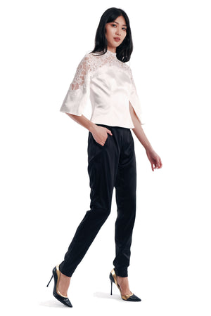 Edena Lace Emb. Top