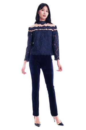 Mari Lace Top