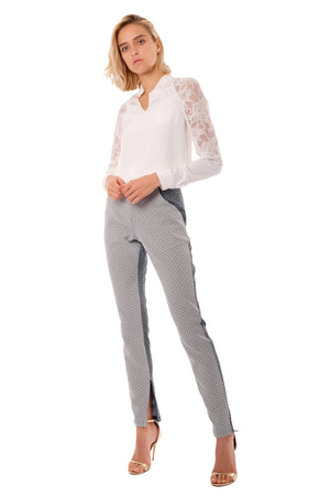 Bia Silk Lace Blouse