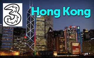 Hong Kong Prepaid SIM Card: Carrier Three