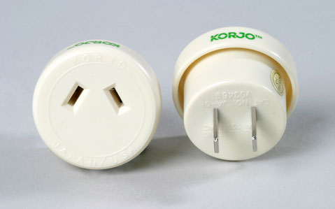 Single Country Adaptor - Korjo Japan Plug