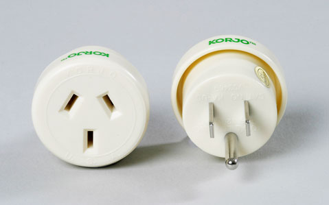 Single Country Adaptor - Korjo USA Plug
