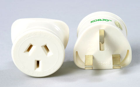Single Country Adaptor - Korjo UK Plug