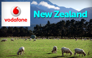 New Zealand Prepaid SIM Card: Carrier Vodafone NZ