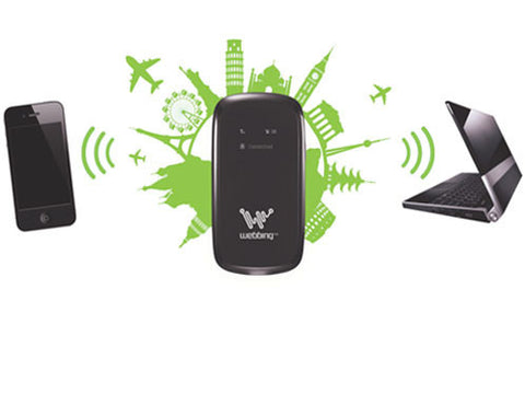 Roaming DATA - Webbing Spot - Portable WiFi Device - Rent NOW