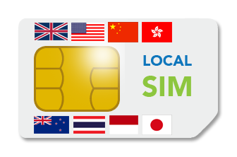 LocalSIM (Single Country SIM cards)