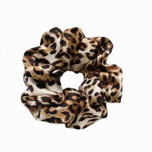 Leopard NO. 6 Satin Sleep Scrunchie