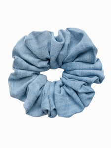 Vintage Denim Scrunchie