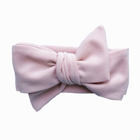 Dusty Rose Classic Bow headband