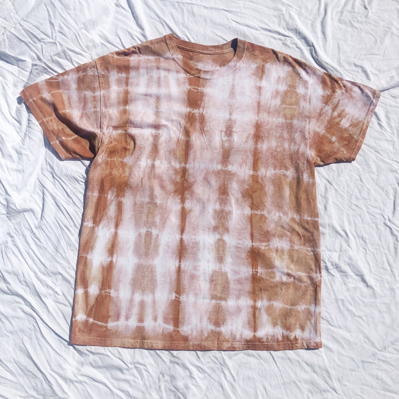 Toffee Tie Dyed Oversized T-Shirt