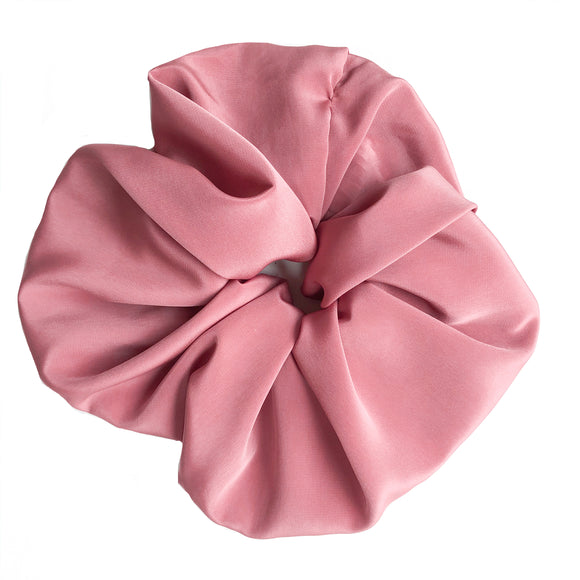 XXL Pinky Orange Silk Scrunchie