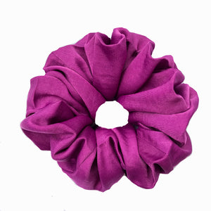 Magenta Satin Sleep Scrunchie