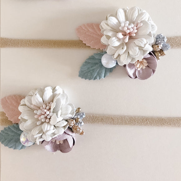 Beautiful Flower Baby Headband