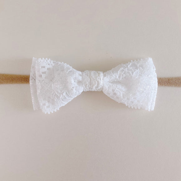 Single lace Bow Headband