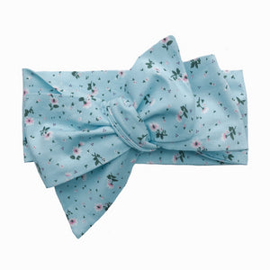Floral Classic Bow Headband (Alice)