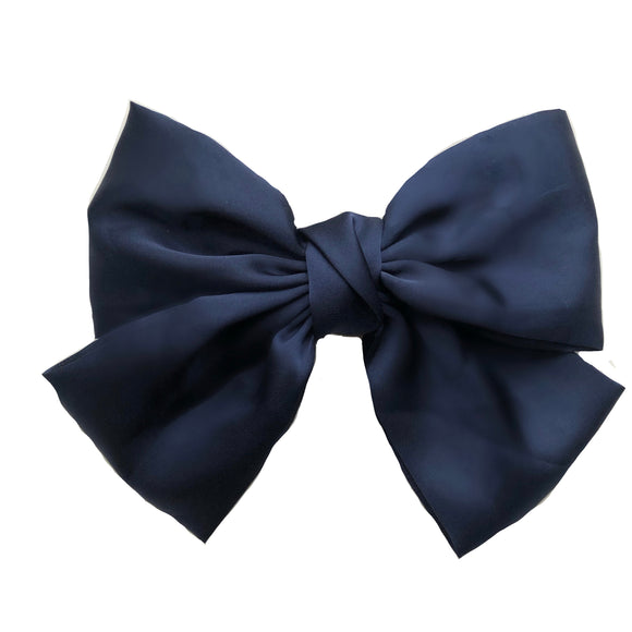 Satin Big Bow Hair Clip