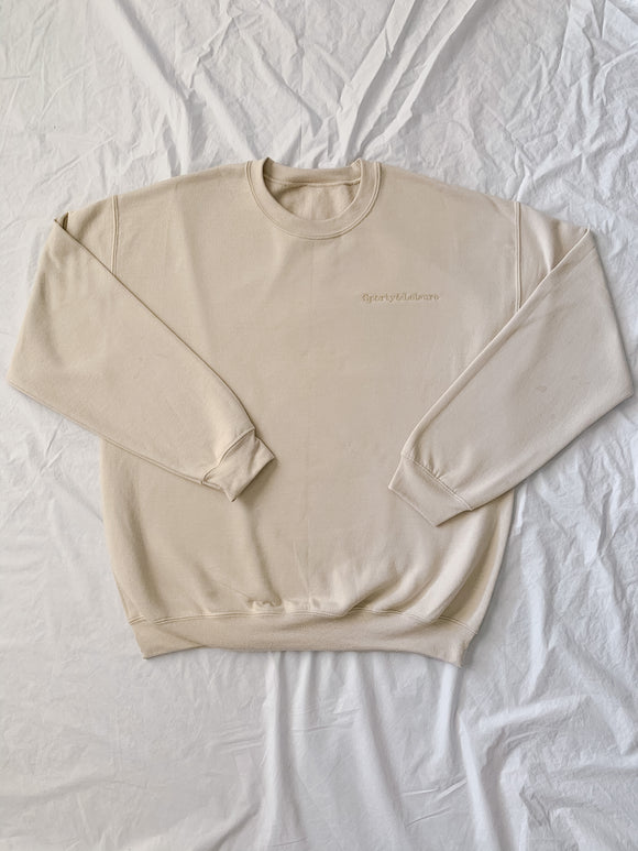 Sand Sporty & Leisure Crewnecks (Sand)