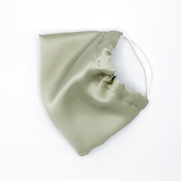 Sage ADJUSTABLE Mulberry Silk Face Mask