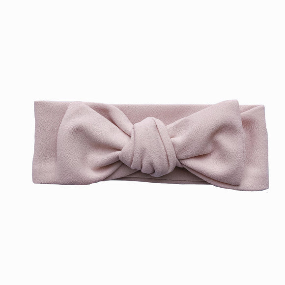 Newborn Dusty Rose Knot Headband