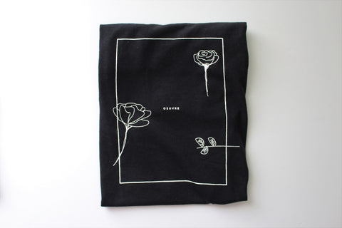 Rose is a rose is a rose / T - Shirt - Black
