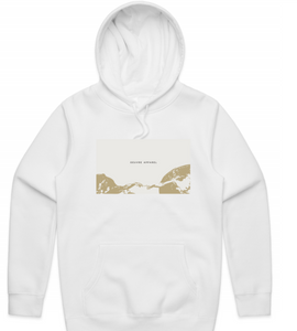 Creation of Adam / White Hoodie