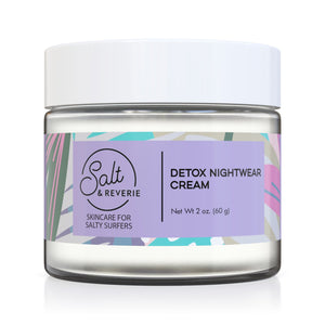 Salt & Reverie Detox Night Cream for Salty Surfers - Salt and Reverie
