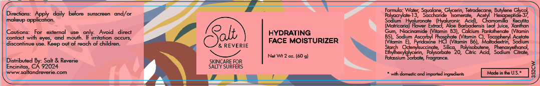 Salt & Reverie Hydrating Face Moisturizer for Salty Surfers - Salt and Reverie