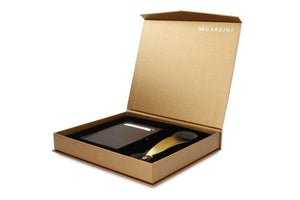 Gift Box with Shoe Horn Nappa - Chocolate Brown - 1