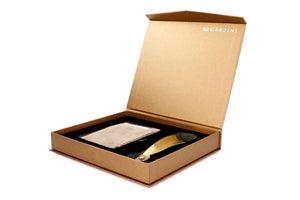 Gift Box with Shoe Horn Vintage - Metal Grey - 1