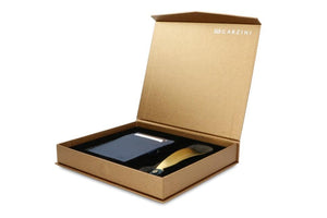Gift Box with Shoe Horn Nappa - Navy Blue - 1