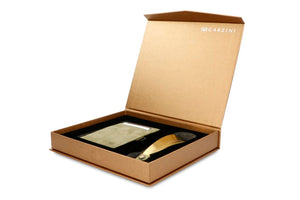 Gift Box with Shoe Horn Vintage - Olive Green - 1