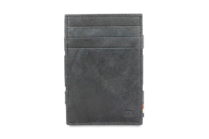 Essenziale Magic Coin Wallet Brushed - Brushed Black - 2