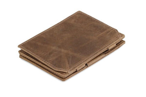Essenziale Magic Coin Wallet Brushed - Brushed Brown - 1
