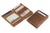 Essenziale Magic Coin Wallet Brushed - Brushed Brown - 4