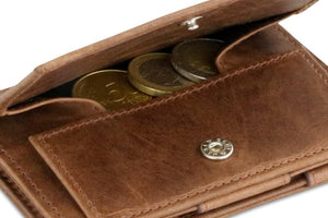 Essenziale Magic Coin Wallet Brushed - Brushed Brown - 5