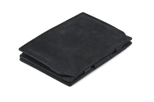 Magic Coin Wallet Garzini Essenziale - Carbon Black - 1